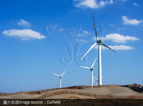 風力發電,使用替代能源