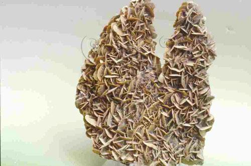 明礬石,產地:臺北縣金瓜石。