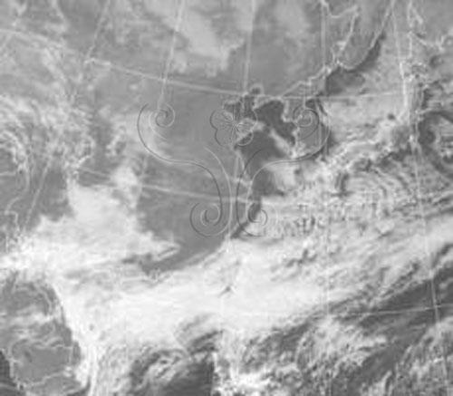 1999年1月15日氣象衛星雲圖