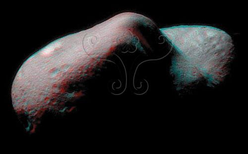 形狀似馬鈴薯的愛神433號小行星近貌