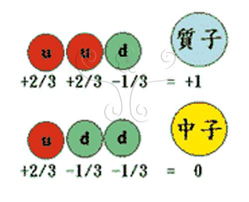 質子和中子的組成方式