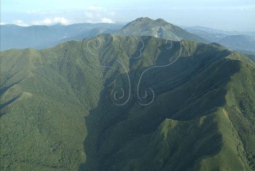 小觀音山大凹崁火山口是全臺灣最大的火山口。