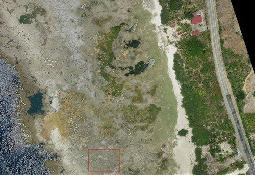 北怡洛戈海岸局部的航照地圖