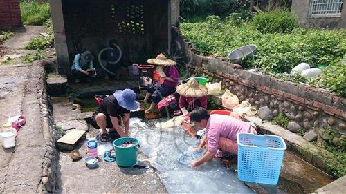 湧泉提供古人和今人生活資源