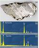 由(a) (b) (c)可見鎳紋石比鐵紋石有較強之鎳訊號