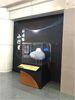 科博館小行星的示意圖,目前放在西屯路入口前展示