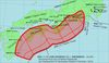 南海海槽(Nankai Trough)的分布
