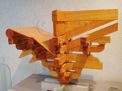 清代斗拱结构分解图:清代斗拱做法详图