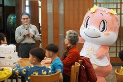 科博館羅偉哲副館長歡迎兒童與樂齡者慶元宵