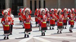 太巴塱與東豐的阿美族人傳統舞表演與古調領唱1