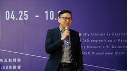 臺北科技大學互動設計系葛如鈞助理教授致詞
