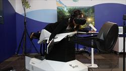 VR擬鳥互動體驗