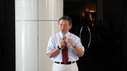 中央研究院歷史語言研究所考古學門負責人-李匡悌研究員致詞